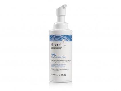 1250 topic body cleansing foam bottle