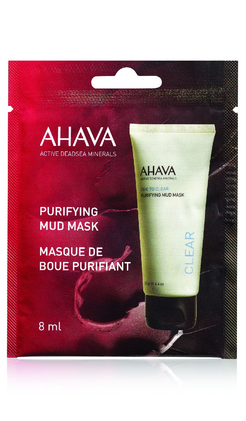 AHAVA Čistící bahenní maska Obsah: 8ml