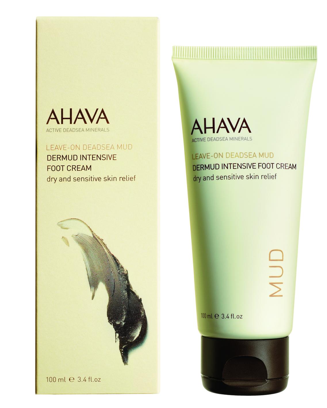 AHAVA Dermud Intenzivní krém na nohy Obsah: 100ml