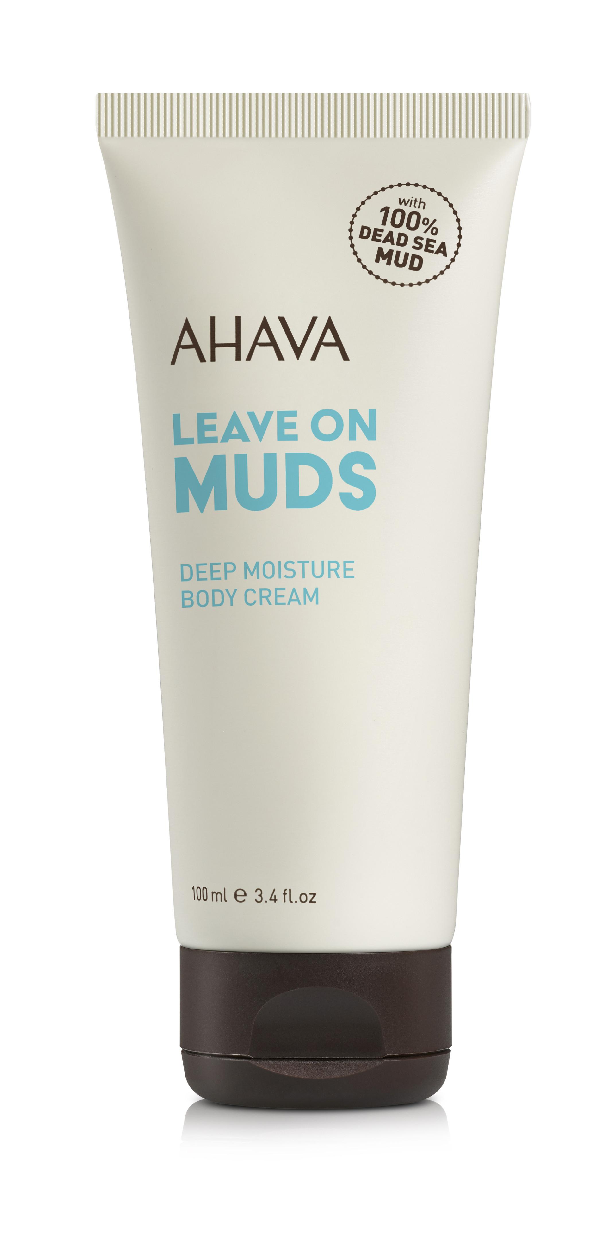 AHAVA Hloubkově hydratační tělový krém Leave on Muds 100ml