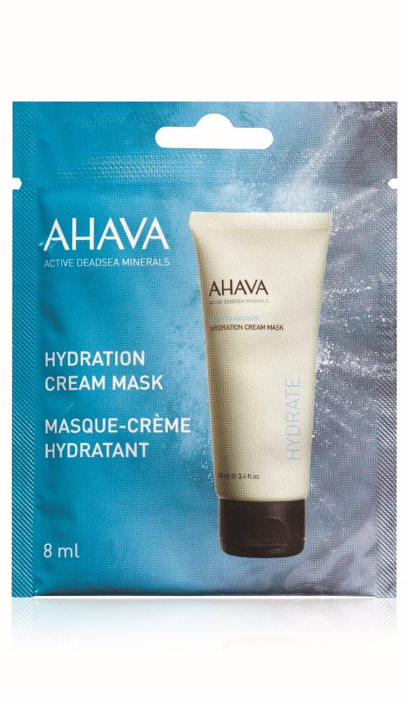 AHAVA Hydratační krémová maska Obsah: 8ml
