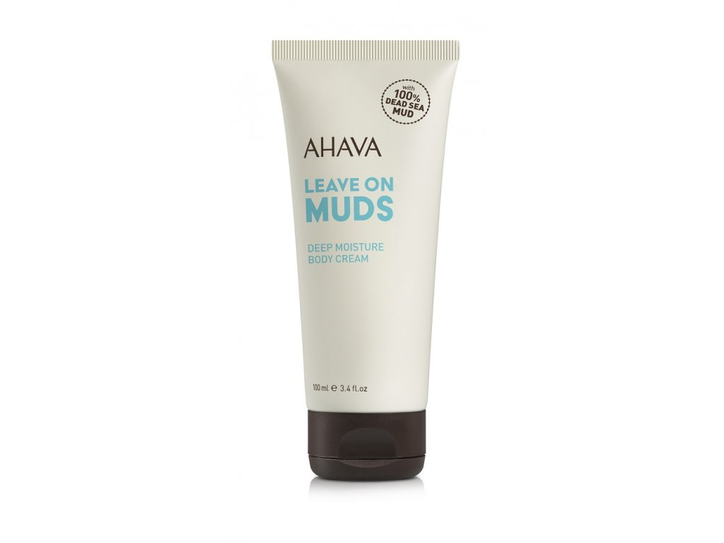 Leave on Mud body cream tube RGB low web