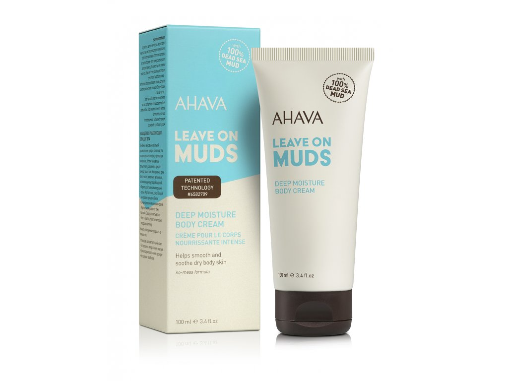 Leave on Mud body cream ic+tube RGB low