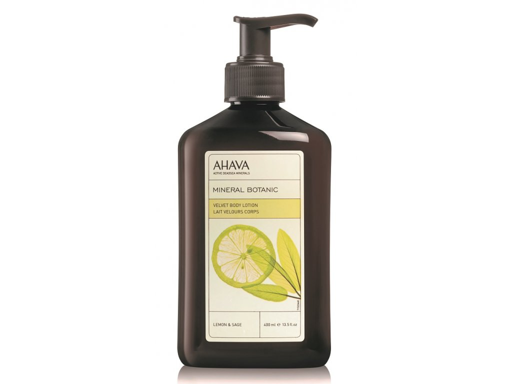 Velvet Body Lotion Lemon & Sage front web