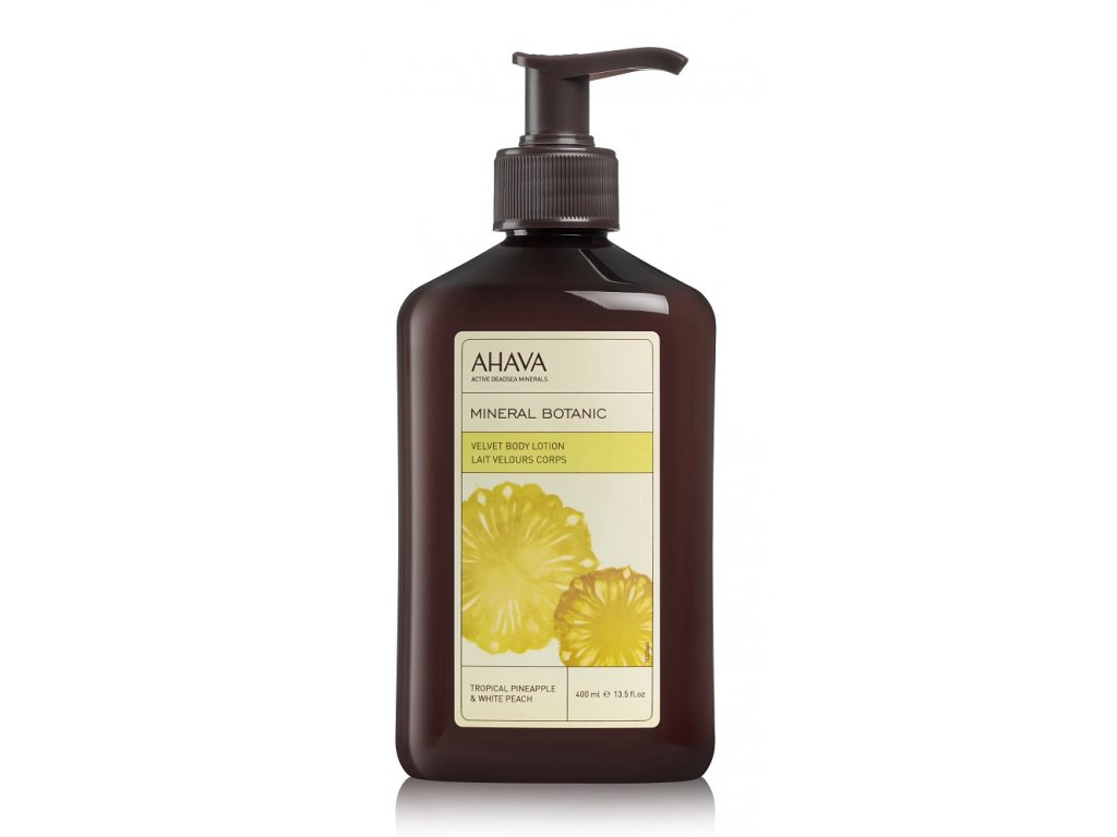 Velvet Body Lotion Tropical Pineapple & White Peach front web