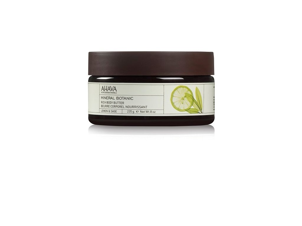 Rich Body Butter Lemon & Sage jar front