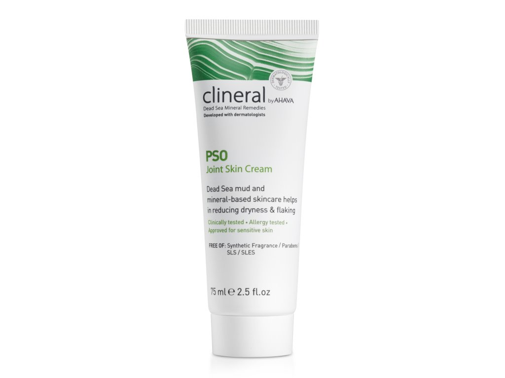 CLINERAL 2016 PSO Joint Skin Cream 75ml 1500x15002