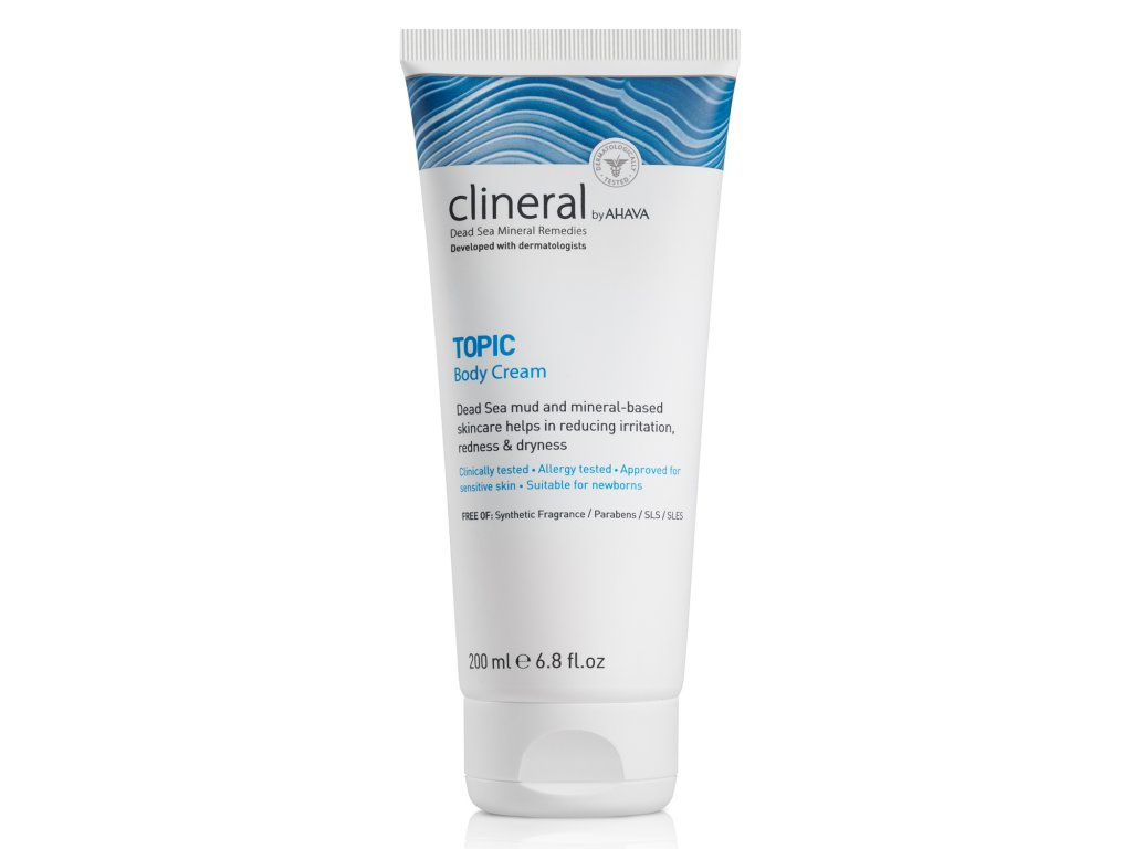 CLINERAL 2016 TOPIC Body Cream 200ml 1500x15002