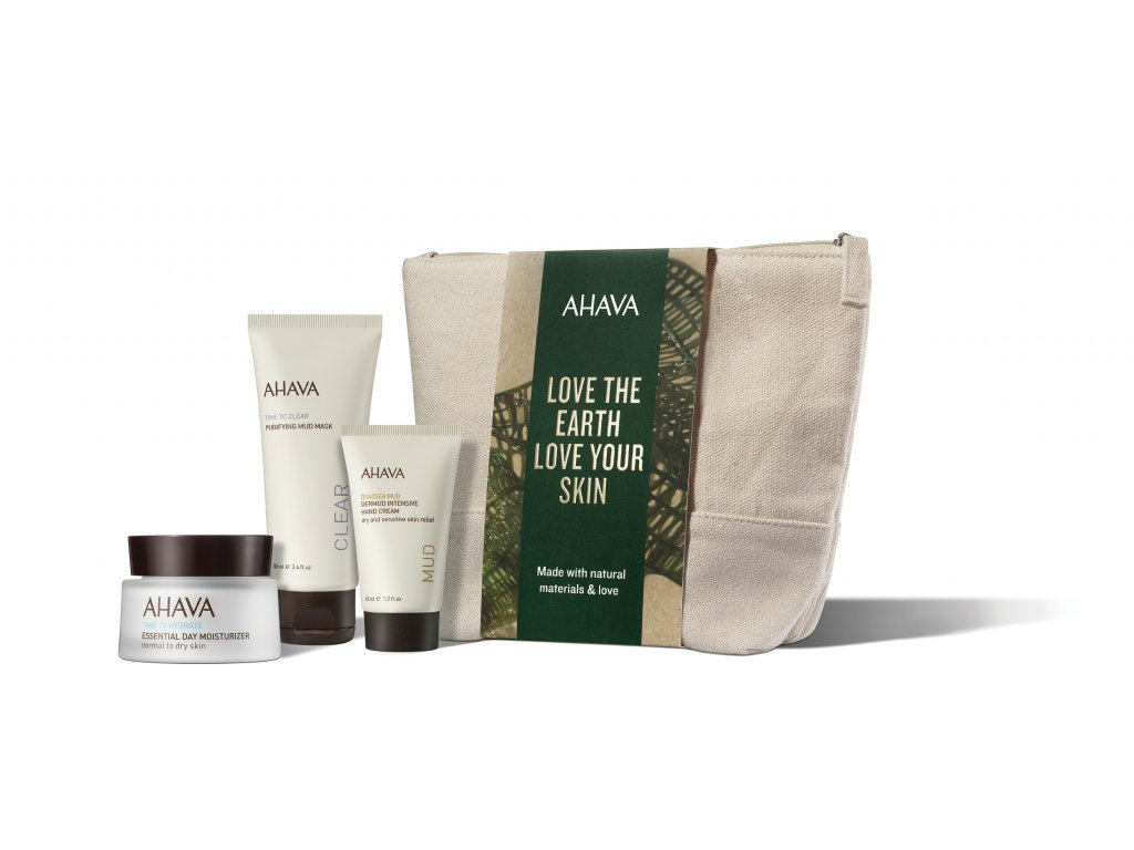 Holiday Collection 2019 Naturally Beautifully Hydrated Bag front+products RGB low