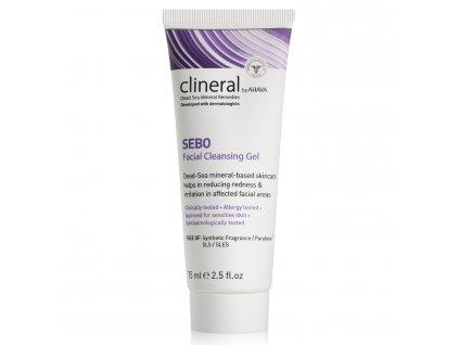 CLINERAL 2015 SEBO Facial Cleansing Gel 75ml 1500x15002