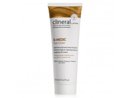 CLINERAL 2016 D MEDIC Foot Cream 125ml 1500x15002