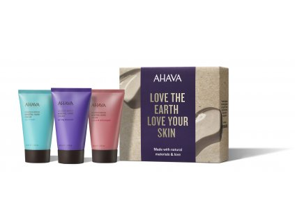 Holiday Collection 2019 Naturally Silky Hands Box front+products RGB low