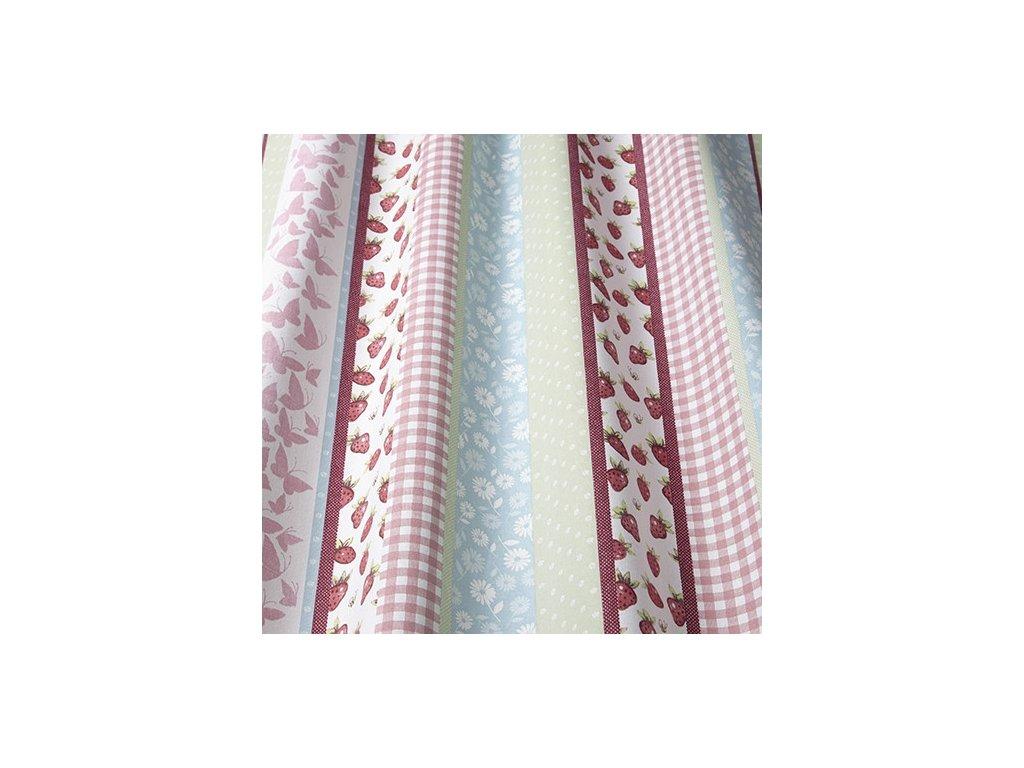sherbet stripe pink wavy 2