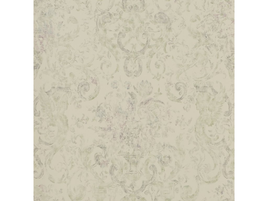 Old Hall Floral Natural, Ivory and White Wallpaper PRL704 03