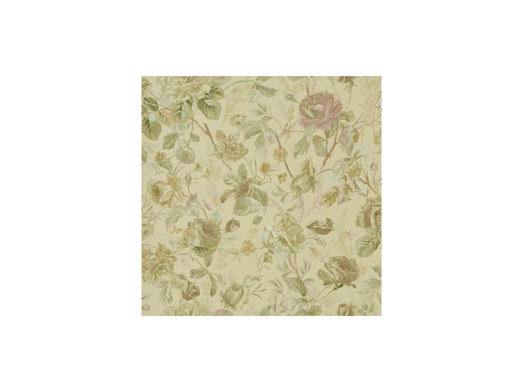 Marston Gate Floral Green Wallpaper PRL705 03