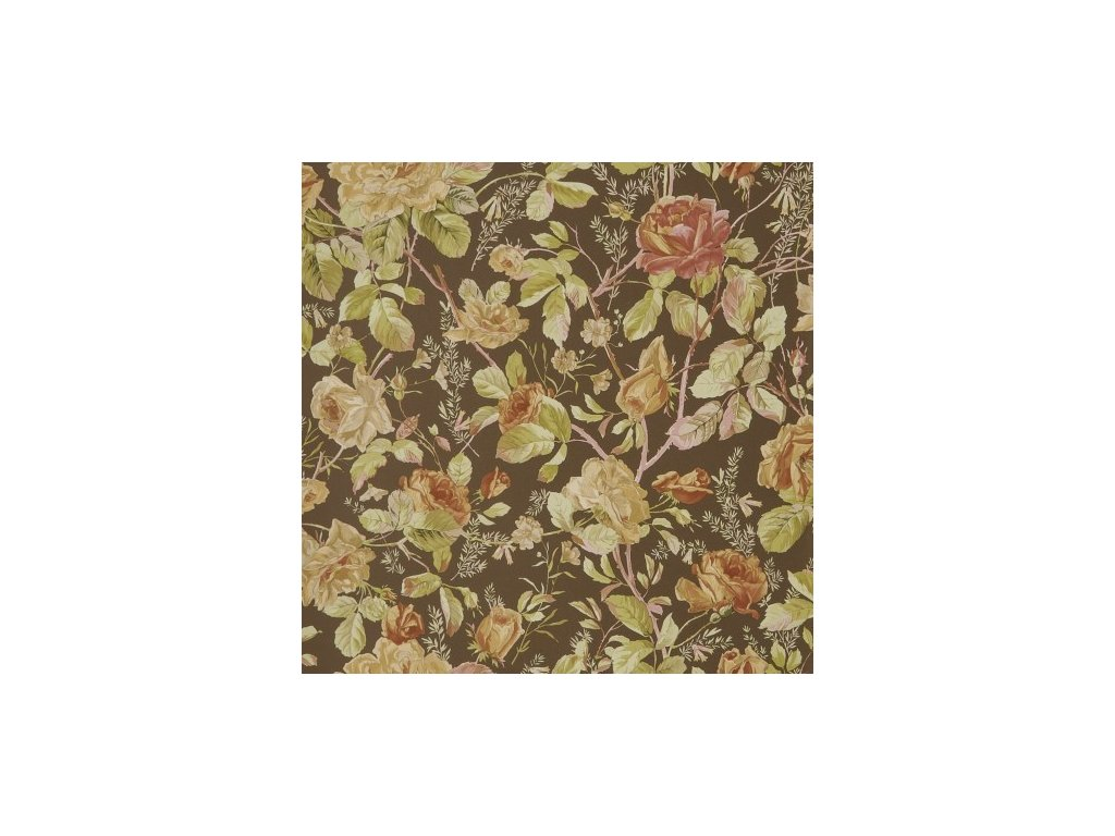 Marston Gate Floral Brown and Beige Wallpaper PRL705 05