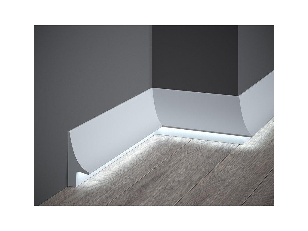 Podlahová lišta QL007P (Délka Lišta o délce 2 m)