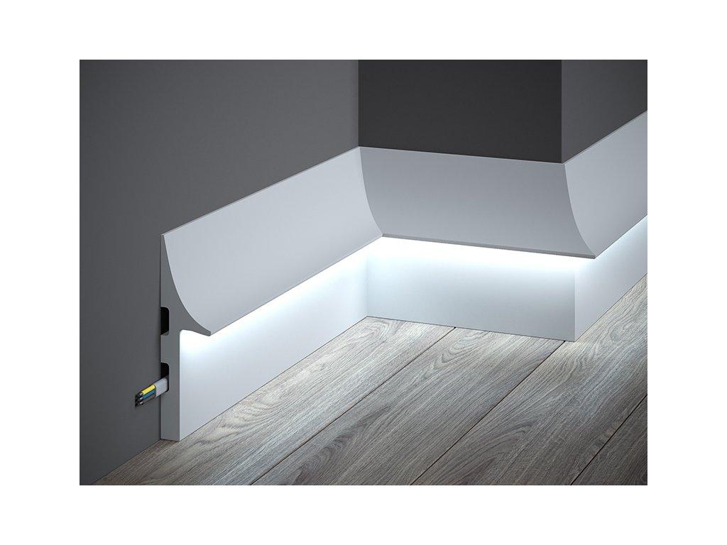 Podlahová lišta QL008 (Délka Lišta o délce 2 m)