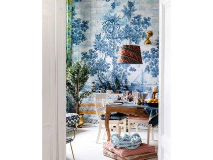 azure mural 156x300cm wp20560 01