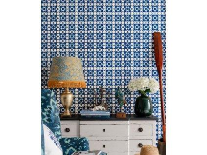 aegean tiles indigo 52x52cm wp30051 2