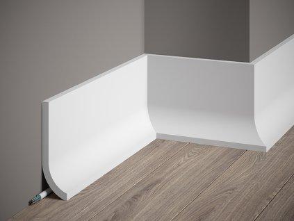 Podlahová / LED lišta QS011 (Délka Lišta o délce 2 m)