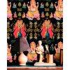 psychodelic hindu art blue