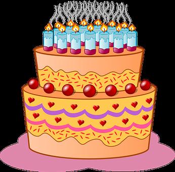 NARODENINOVÉ SVIEČKY na tortu