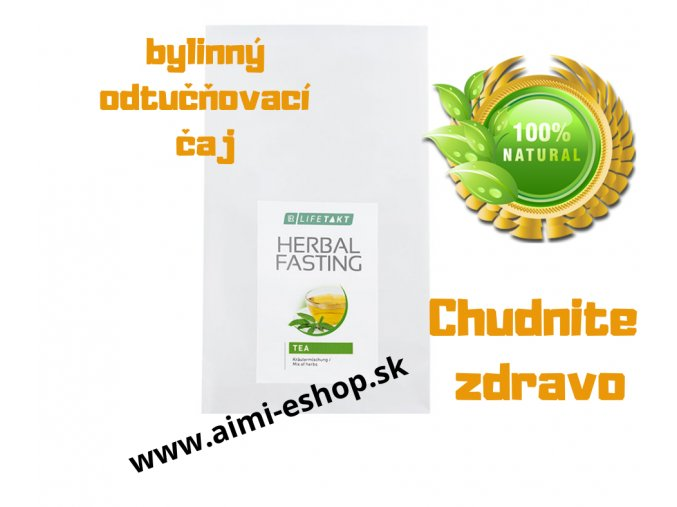 LR LIFETAKT Figu Active Bylinkový odtučňovací čaj 250 g NA CHUDNUTIE