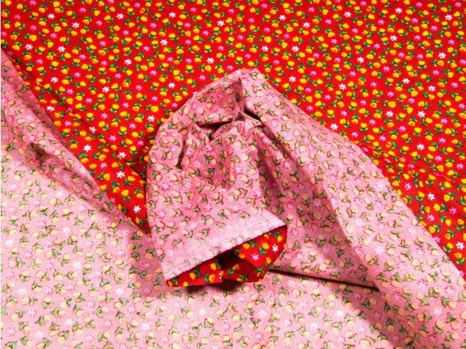 bavlnena latka zlty tulipan s kvietkom 140 cm 20782907