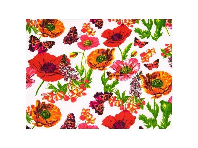 bavlnena latka maky a motyle 140 cm 66583642