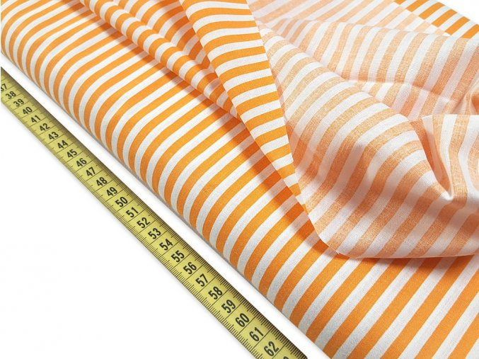 bavlnena latka tenky pasik 5 mm sirka 140 cm 826601