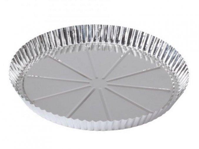 FORMA okrúhla na korpus POCÍNOVANÝ PLECH 26cm na pečenie koláča
