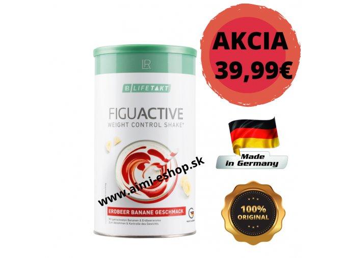 LR LIFETAKT Figu Active Koktail Jahoda-Banán - Koktejl 450g Health & Beauty