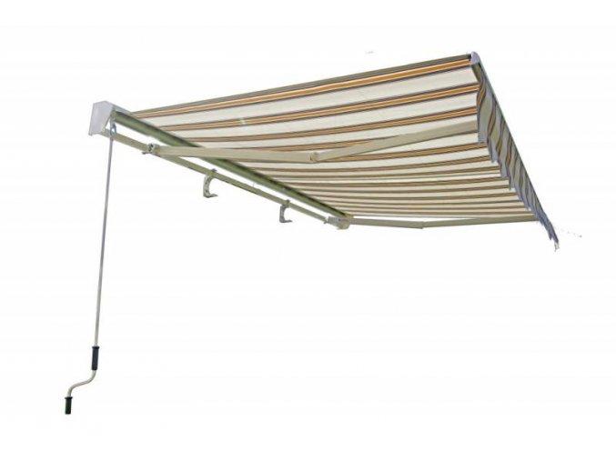 180118 markiza slnecna 3x2m bezovo ruzove pruhy s al krytom