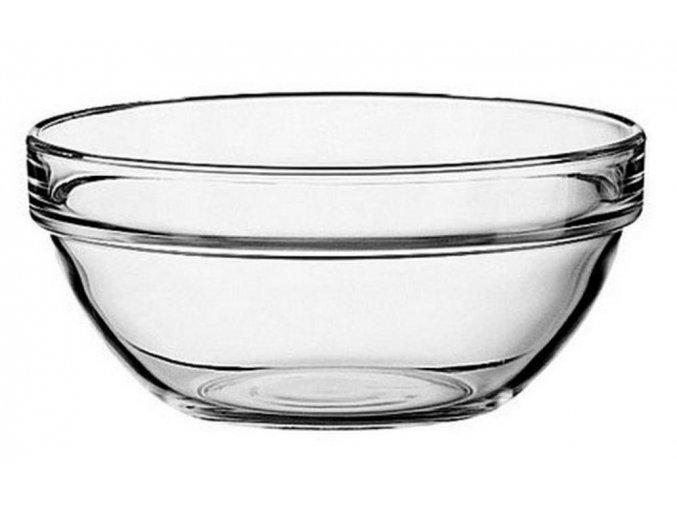 Miska sklenená 14cm priemer okrúhla na polievku kompót 0,5 litra