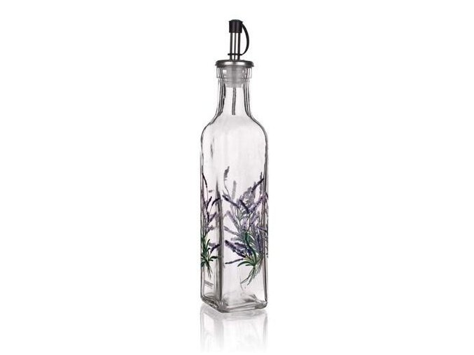fľaša na olej levandula