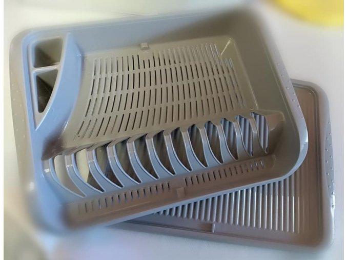 odkvapkavac sivy na riad
