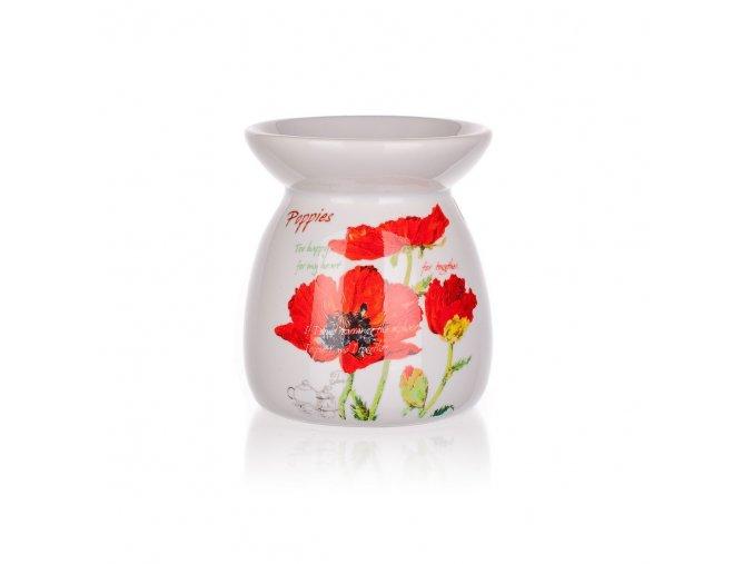 banquet aroma lampa keramicka red poppy 1full