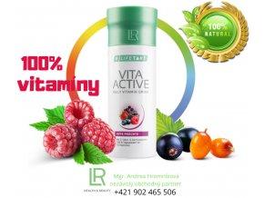 LR VITA ACTIVE RED - 150ml Prírodné vitamíny