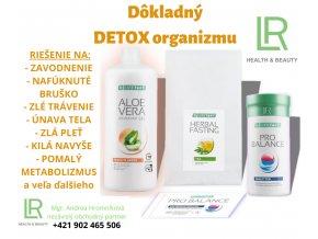 DETOX ORGANIZMU - mesačný balíček na detox