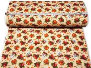 dekoracna latka patworch kvety 140 cm 59421342