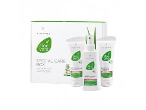 LR Aloe Vera Špeciálny Box pre Hydratáciu a Regeneráciu pokožky Aloe Via