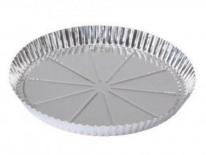 FORMA okrúhla na korpus POCÍNOVANÝ PLECH 30 cm na pečenie koláča