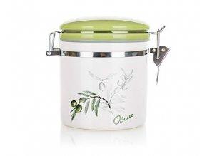 doza hermeticka olivy zelene