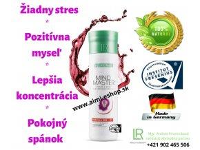 LR LIFETAKT MIND MASTER FORMULA RED 500 ML Pozitívna myseľ, lepšia koncentrácia a spánok