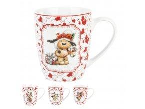 Vianočný porcelánový hrnček 360ml
