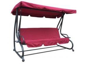 HOJDAČKA ZÁHRADNÁ DARINA BORDOVÁ PRUŽINOVÝ SEDÁK pre 3 osoby - ROZKLADACÍ SEDÁK na posteľ