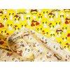 bavlnena latka emoticons 140 cm 30447592