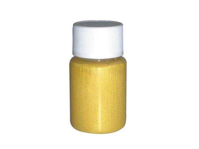 Airbrush gyöngy tetoválási szín Fengda yellow 40 ml
