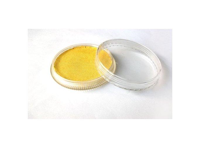 Gyöngyszín testfesték Fengda body painting yellow 30 g